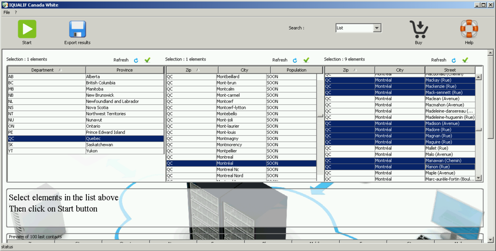IQUALIF  Luxembourg Yellow Screenshot 1