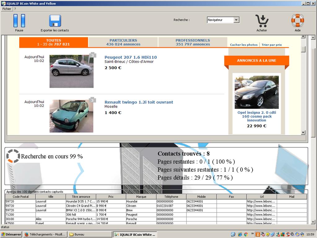 IQUALIF Tunisia Yellow Screenshot 1