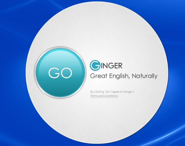 Ginger Software Screenshot