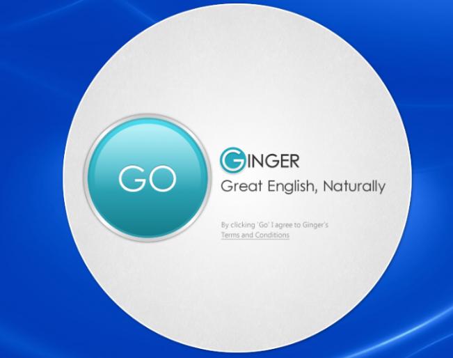 Ginger Software Screenshot 1