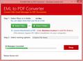 EML to PDF Converter 3
