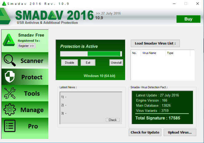 Smadav Screenshot 2
