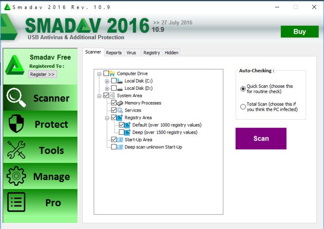 Smadav Screenshot 3