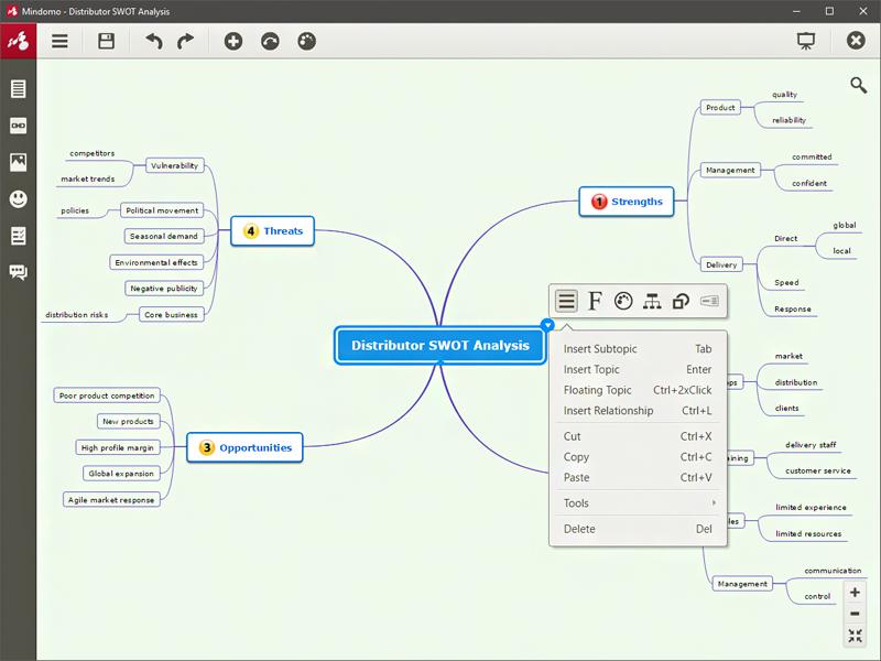 Mindomo Desktop Screenshot 2