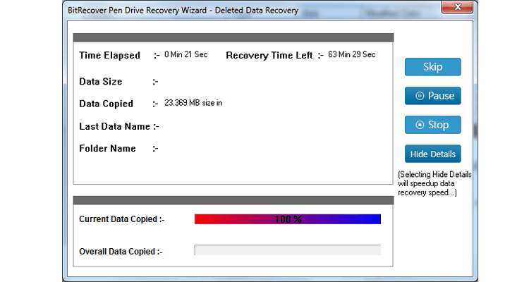 Pen Drive Recovery Software Screenshot 4