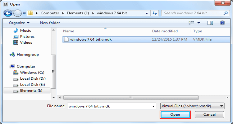 VMDK Recovery Software Screenshot