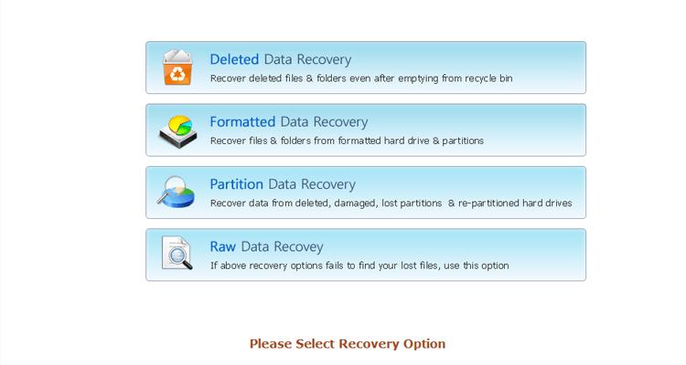 VMDK Recovery Software Screenshot 2