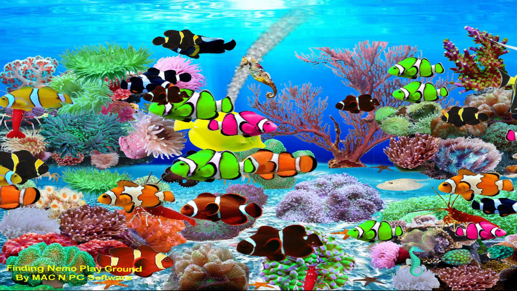 Finding Nemo Aquarium Screenshot 2