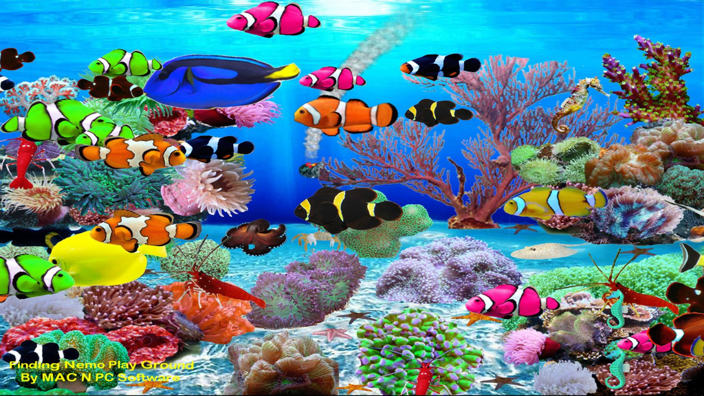 Finding Nemo Aquarium Screenshot