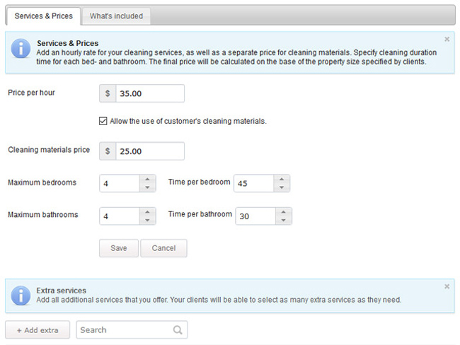 Cleaning Business Software Screenshot 6