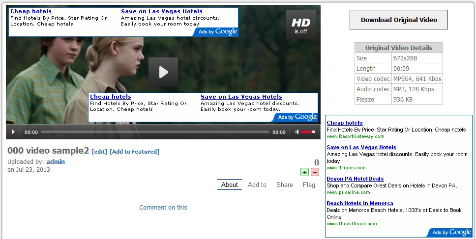 XVideosharing Screenshot 1