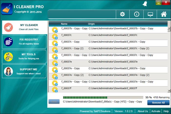 iCleaner Pro Screenshot 2