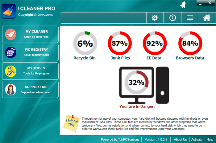 iCleaner Pro Screenshot 3