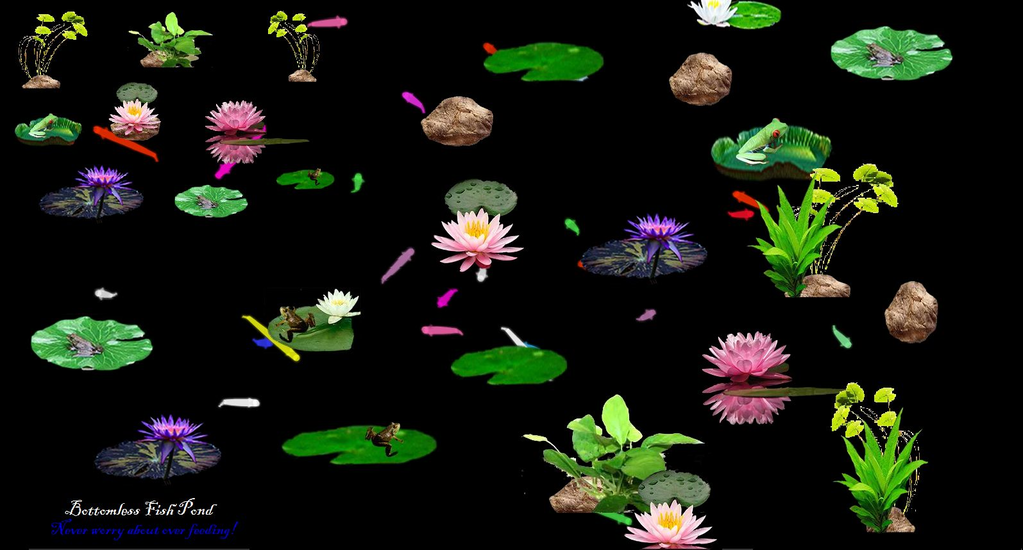 Bottomless Fish Pond( Interactive) Screenshot