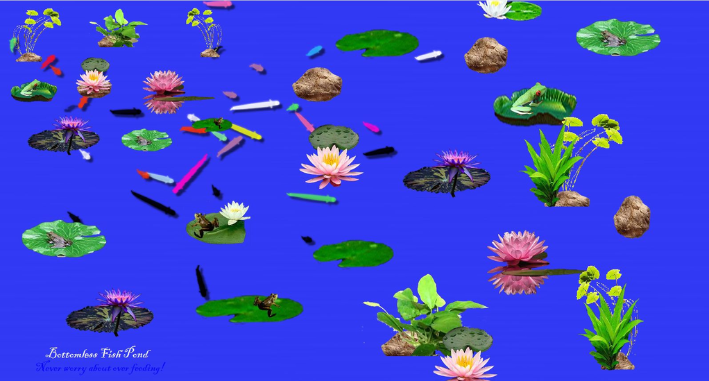 Bottomless Fish Pond( Interactive) Screenshot 3