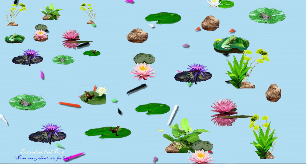 Bottomless Fish Pond( Interactive) Screenshot 2