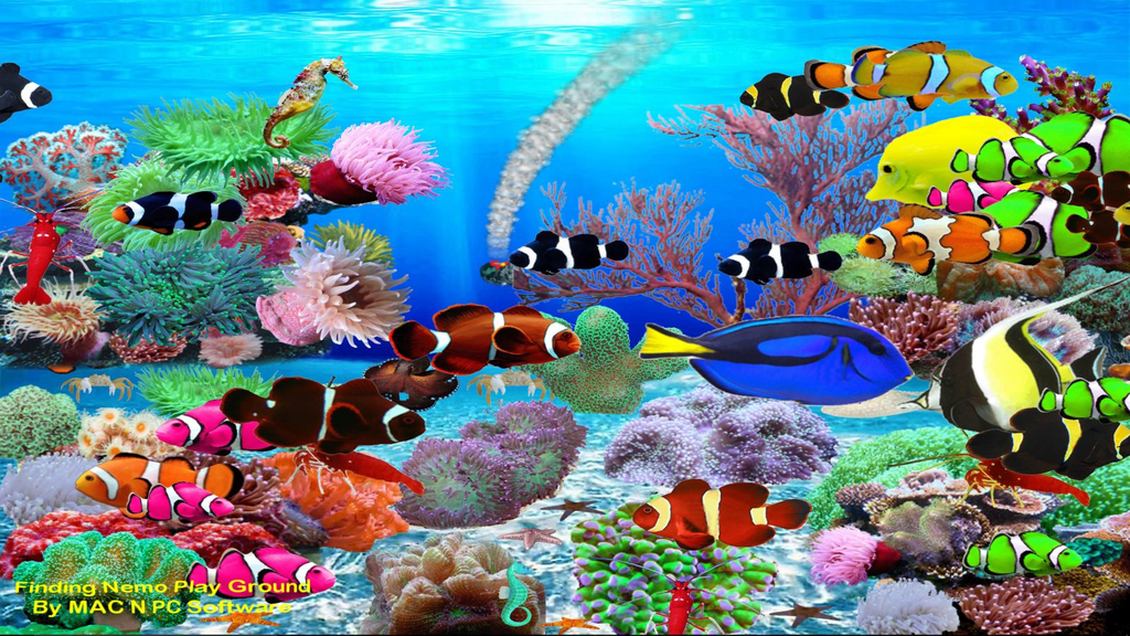 Virtual Aquarium Wallpaper Screenshot 3