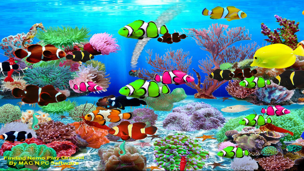 Virtual Aquarium Wallpaper Screenshot 2