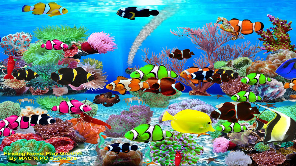 Virtual Aquarium Wallpaper Screenshot
