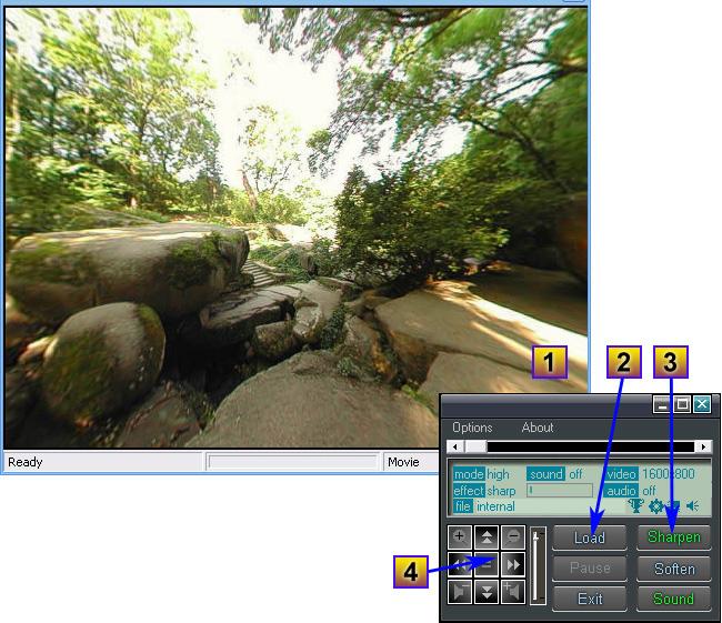 Spherical Panorama 360 Video Viewer Screenshot 2