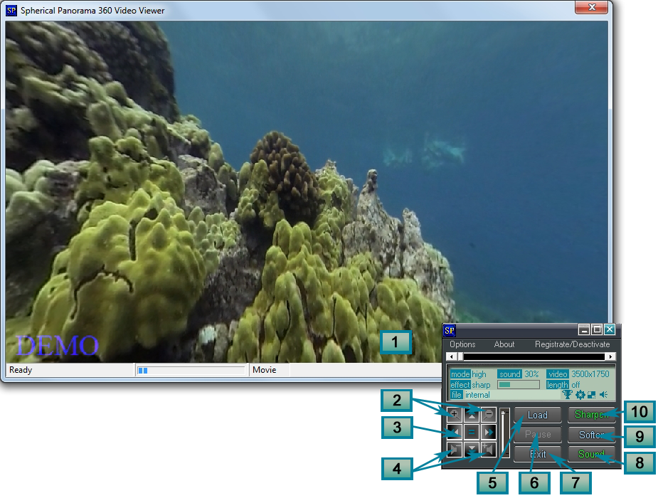 Spherical Panorama 360 Video Viewer Screenshot 4