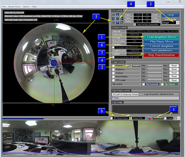 Spherical Panorama 360 Video Publisher Software Screenshot 4