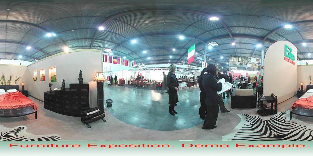 Spherical Panorama Flash Internet Publisher Screenshot 3