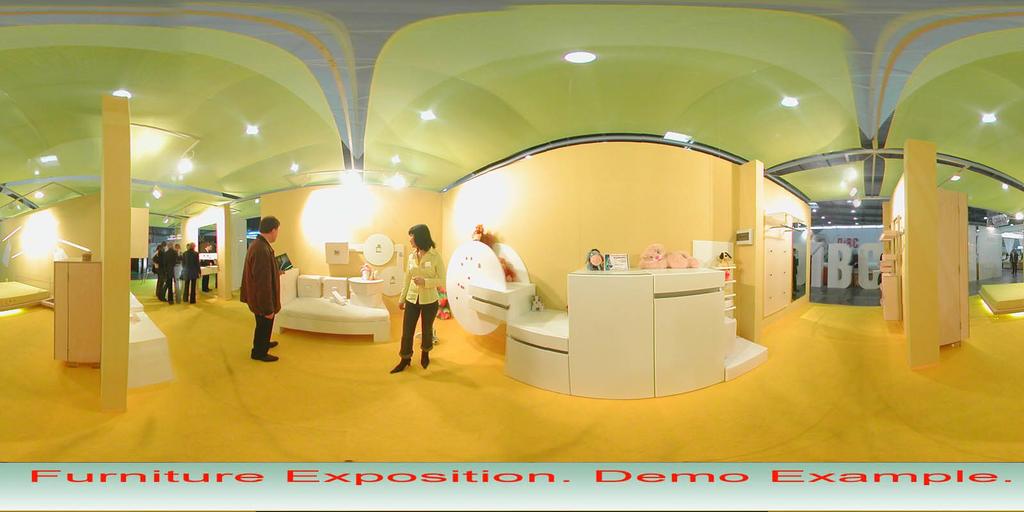 Spherical Panorama Flash Internet Publisher Screenshot 4