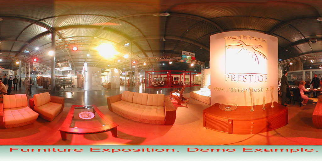 Spherical Panorama Hot Spot Flash Publisher Screenshot 3