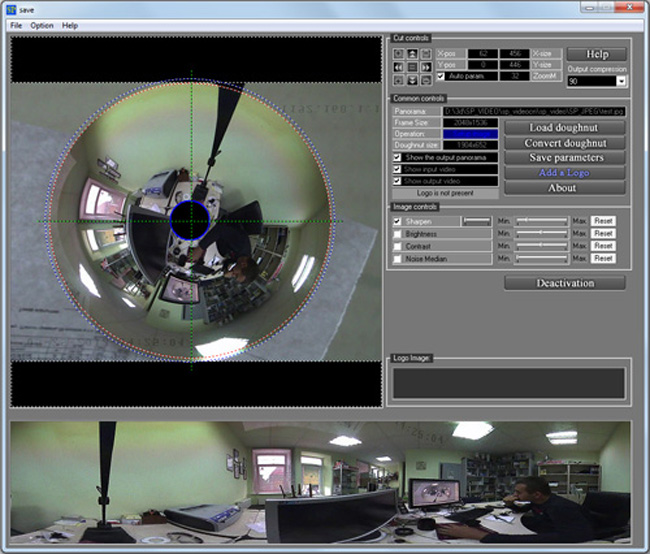 Spherical Panorama 360 Still Photo Publisher Screenshot