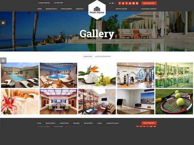 Hotel Website - Vevs.com Screenshot 4