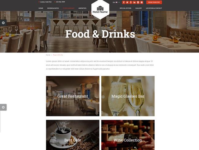 Hotel Website - Vevs.com Screenshot 3