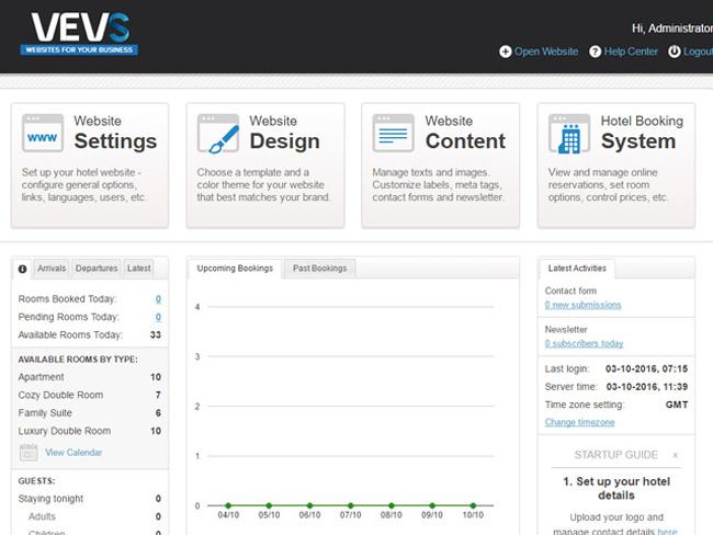 Hotel Website - Vevs.com Screenshot 8