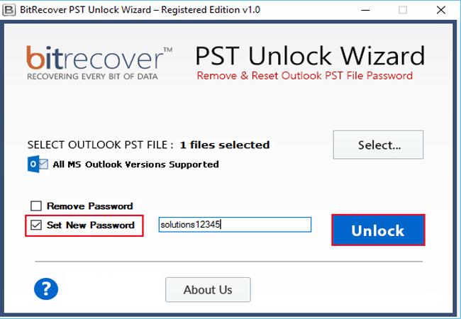 PST Unlock Wizard Screenshot 3