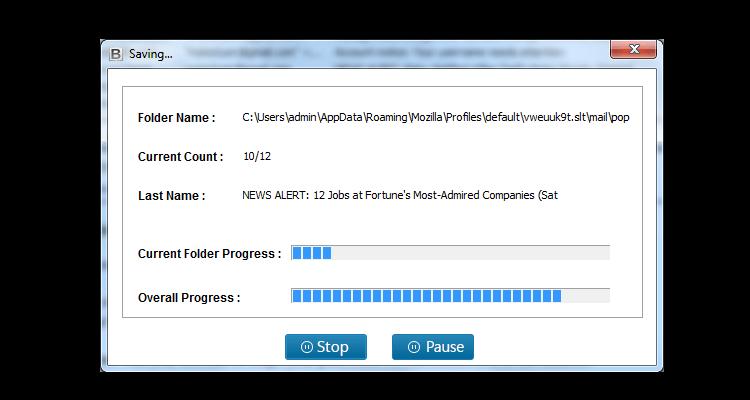 Netscape Converter Wizard Screenshot 4