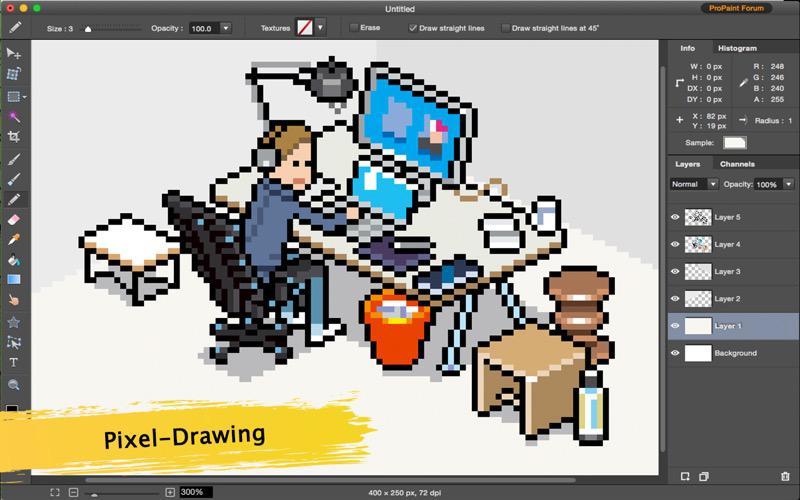Pro Paint for Mac Screenshot 4