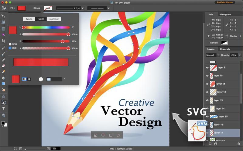 Pro Paint for Mac Screenshot 5