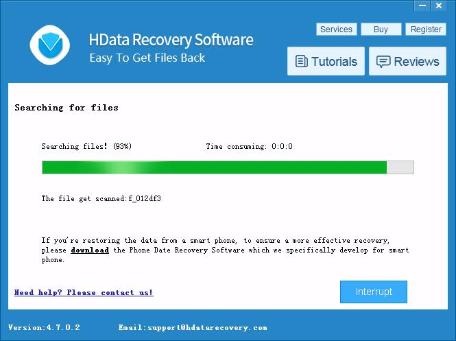 HData Recovery 4.7 - Recover Deleted Files Screenshot 3