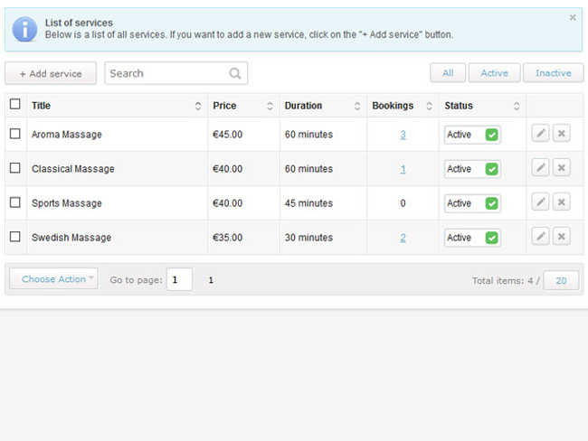 Service Booking Script Screenshot 6
