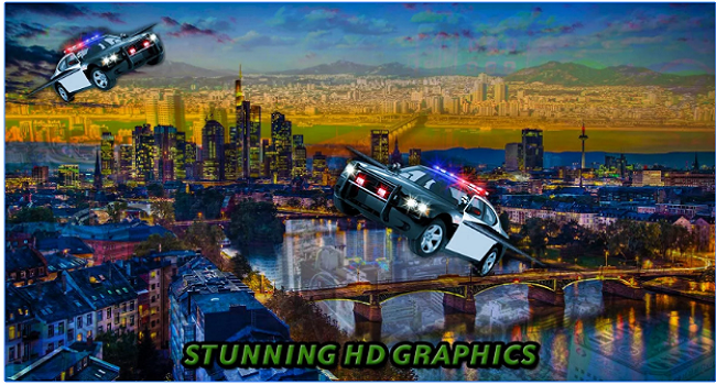 Tourist Flying Car Simulation Screenshot 1