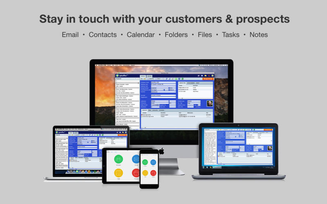 SpinOffice CRM Screenshot
