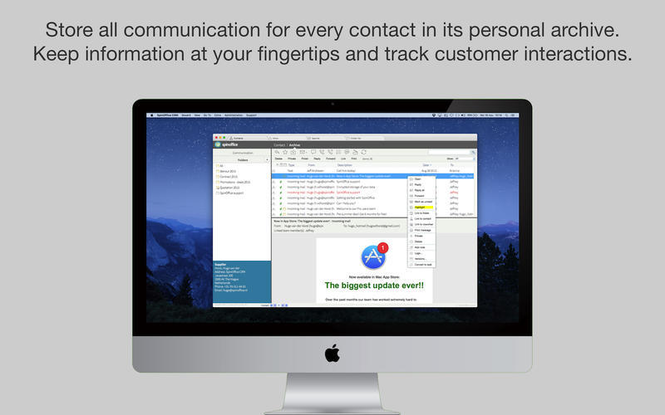 SpinOffice CRM Screenshot 4