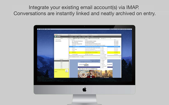 SpinOffice CRM Screenshot 3