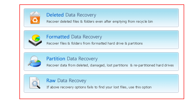 VHD Recovery Software Screenshot 2