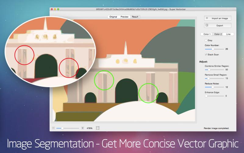 Super Vectorizer 2 for Mac Screenshot 2