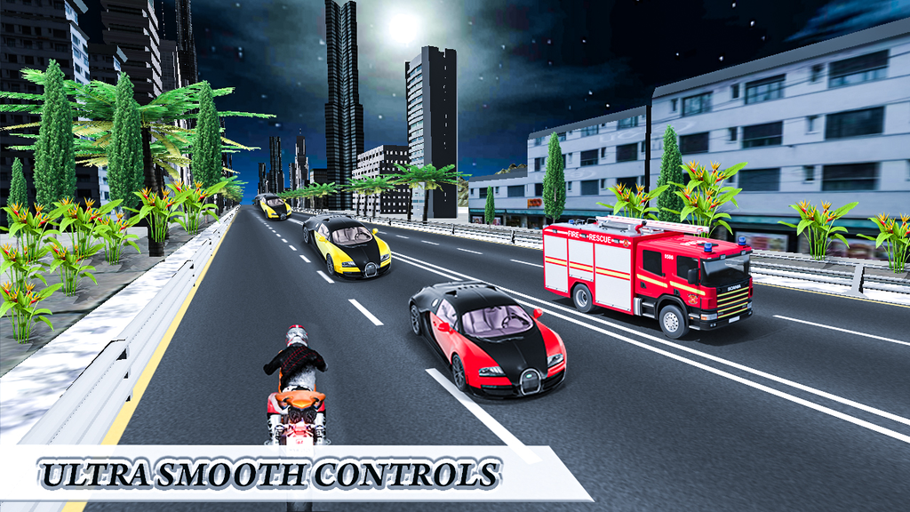 Traffic Highway Race Rider Screenshot