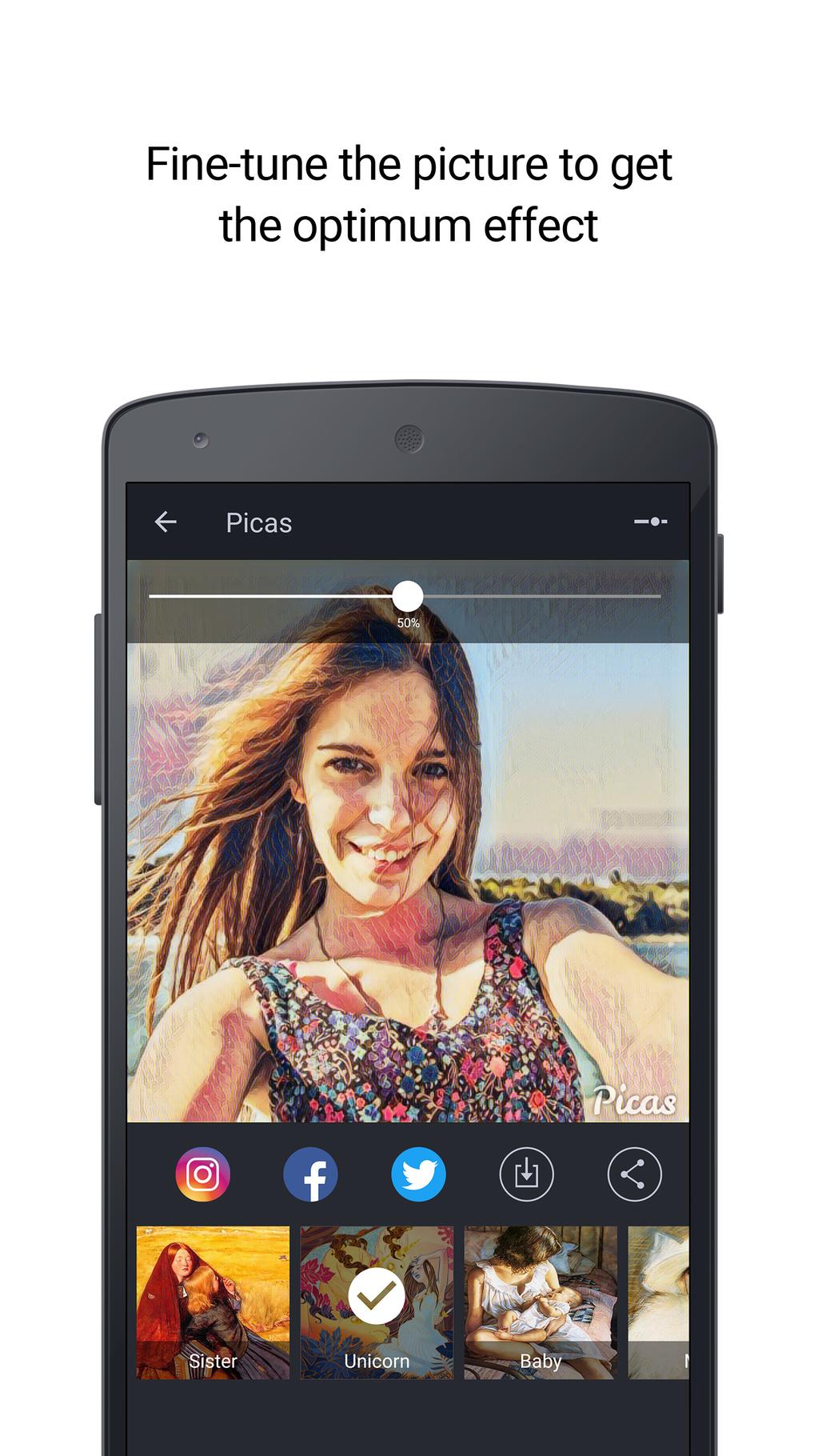 Picas - Photo Artwork Editor Screenshot 6