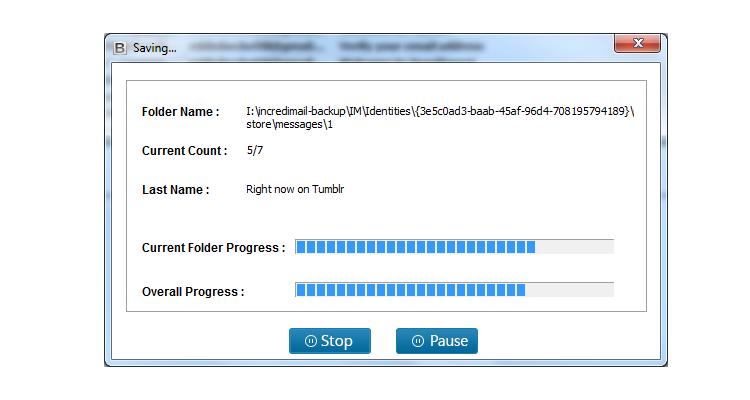 IncrediMail Converter Wizard Screenshot 4