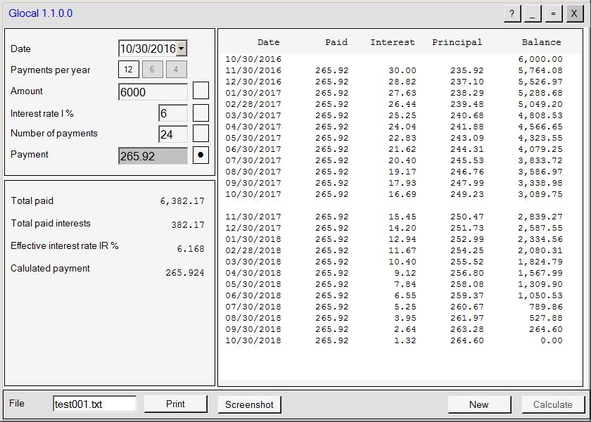 Glocal 1.1.3.0 Screenshot