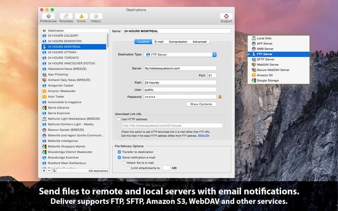 Deliver Screenshot 1
